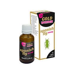 Hiszpańska Mucha Women GOLD strong - 30 ml