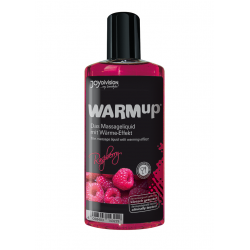 Jadalny olejek do masażu WARMup malinowy - 150 ml