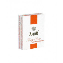 Amor Long Love Studded & Ribbed - 3 szt