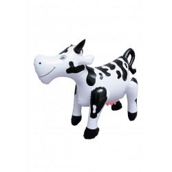 Śmieszna dmuchana lalka krowa - 50 cm