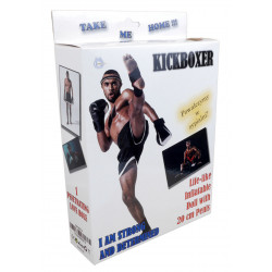 Lalka dmuchana facet - Kickboxer