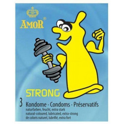 Prezerwatywy Amor STRONG - 3 szt.