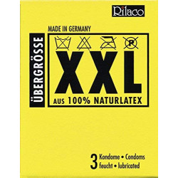 Prezerwatywy Amor Rilaco XXL - 3 szt