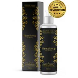 Olejek do masażu z feromonami dla kobiet  - 100 ml