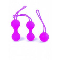 Zestaw sylikonowych kulek gejszy do ćwiczeń mięśni kegla