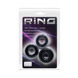 BAILE- THREE COCK RINGS SETS