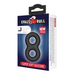 CRAZY BULL - Ring, Super Soft Silicone