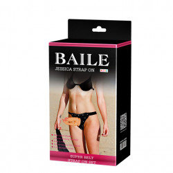 BAILE - JESSICA Double Strap-on Vibrating