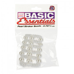 Pierścień-BASIC ESSENTIALS PEARL RING LARGE